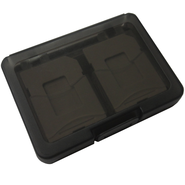 SD/microSD メモリーカード収納ケース 4枚収納用