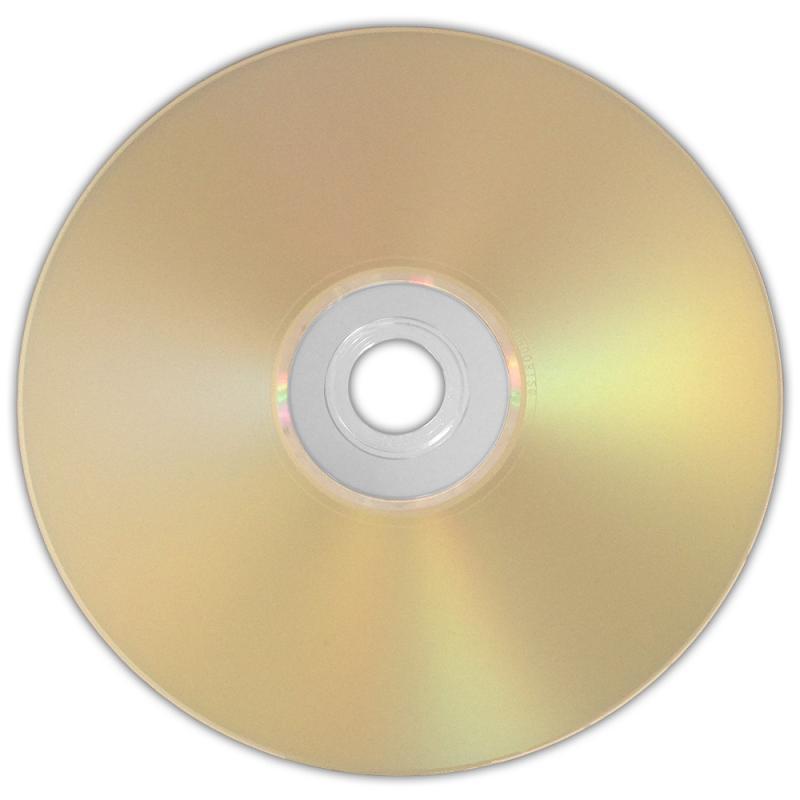 <長期保存◇太陽誘電製> HIDISC DVD-R データ用 4.7GB 1-16倍速対応 5枚 スリムケース入り インクジェットプリンタ対応 ゴールドレーベル