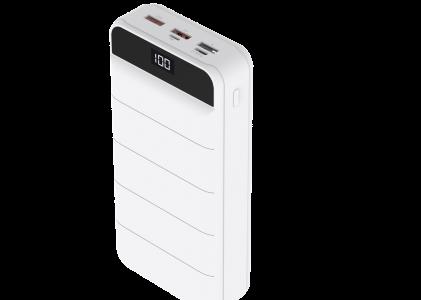 HIDISC PD20W対応超大容量40000mAhモバイルバッテリー HD-GP45AQCWH