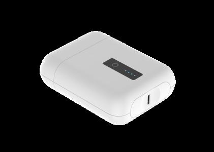 HIDISC PD20W対応超ミニ10000mAhモバイルバッテリー HD-LB1088BWH