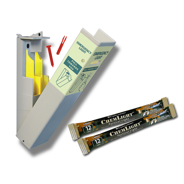 HIDISC 壁掛け型緊急避難用ライト CYALUME SEEシステム
