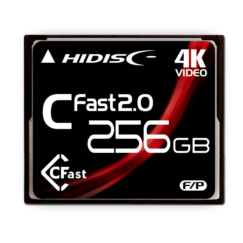HIDISC CFast 256GB HDCFST256GJP3