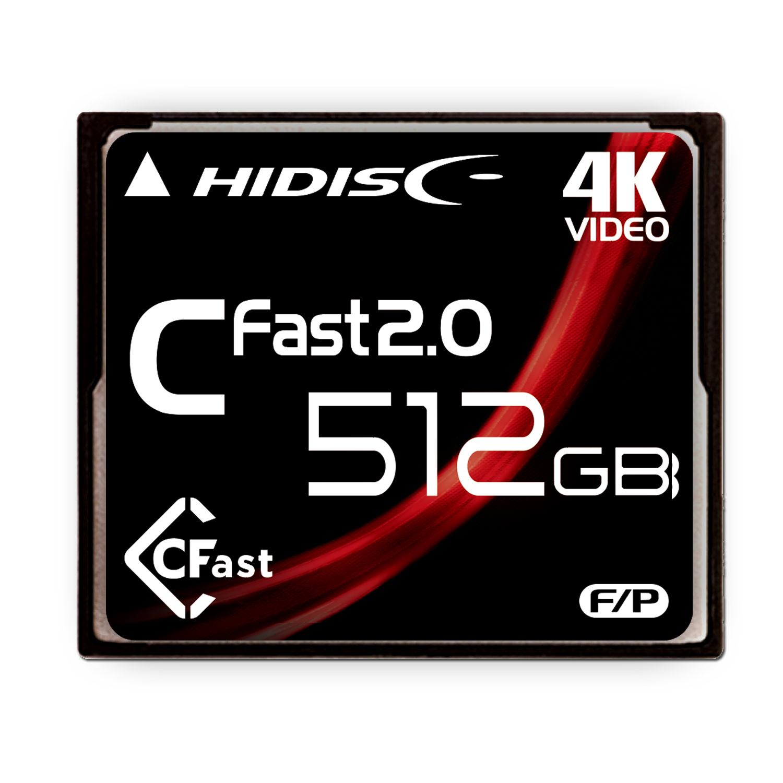 HIDISC CFast 512GB HDCFST512GJP3