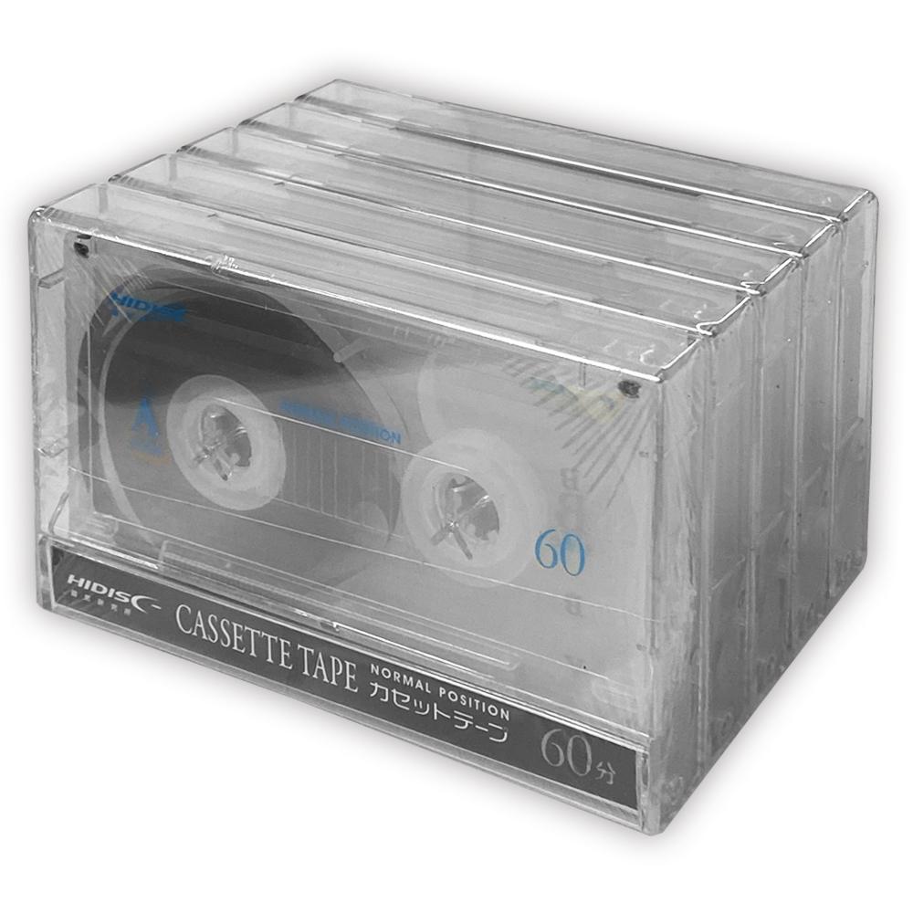 一般録音用カセットテープ60分5P HDAT60N5P