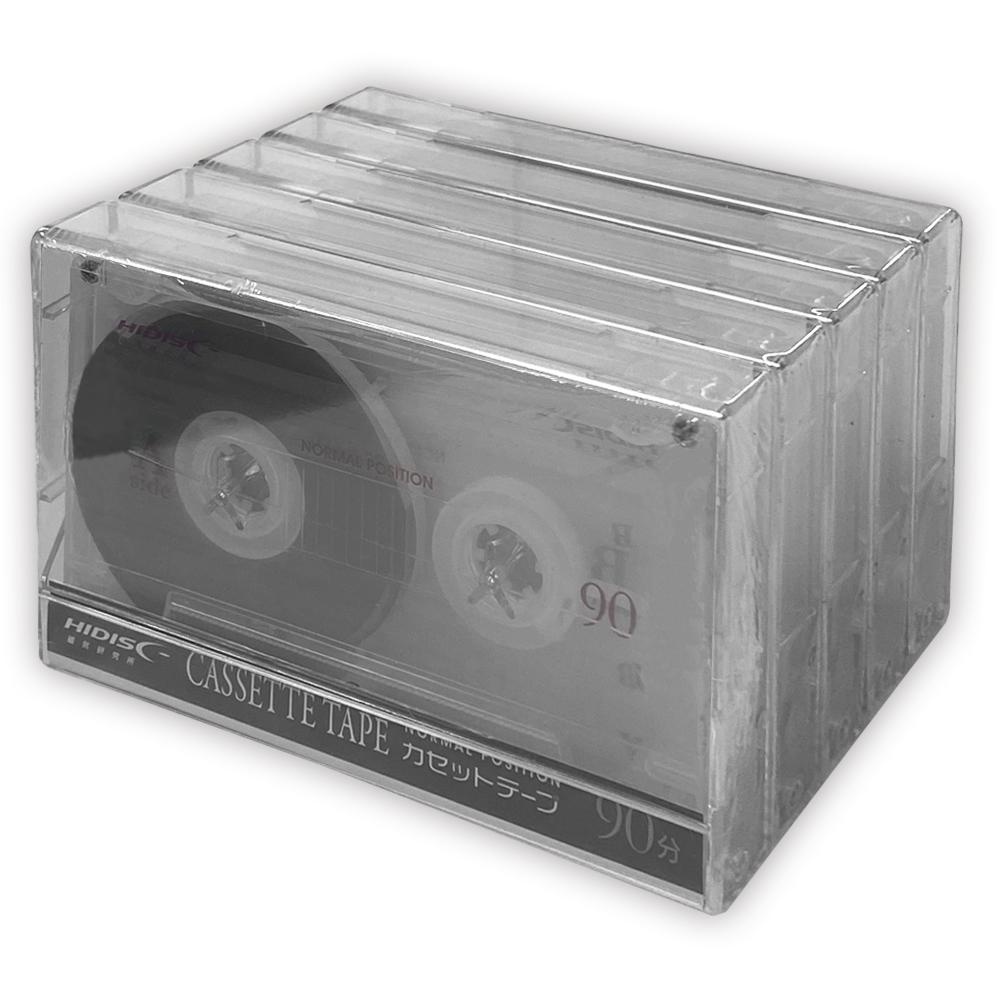 一般録音用カセットテープ90分5P HDAT90N5P