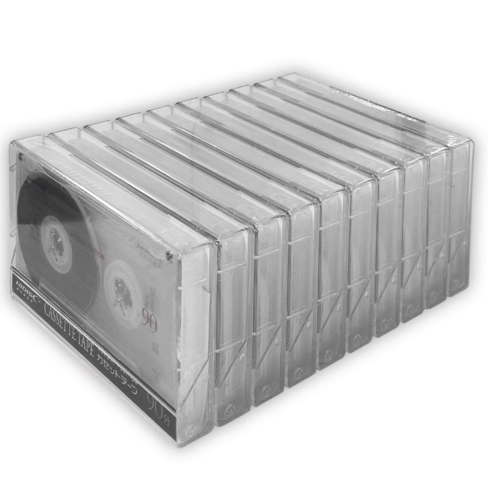 一般録音用カセットテープ90分10P HDAT90N10P