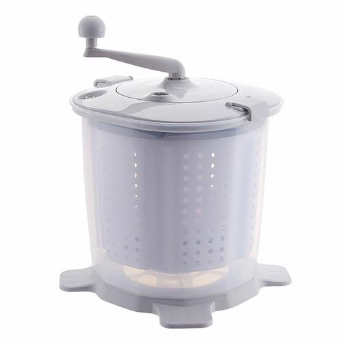 HIDISC アウトドアに最適 ポータブル小型手動式洗濯/脱水機 MG-MWADM01